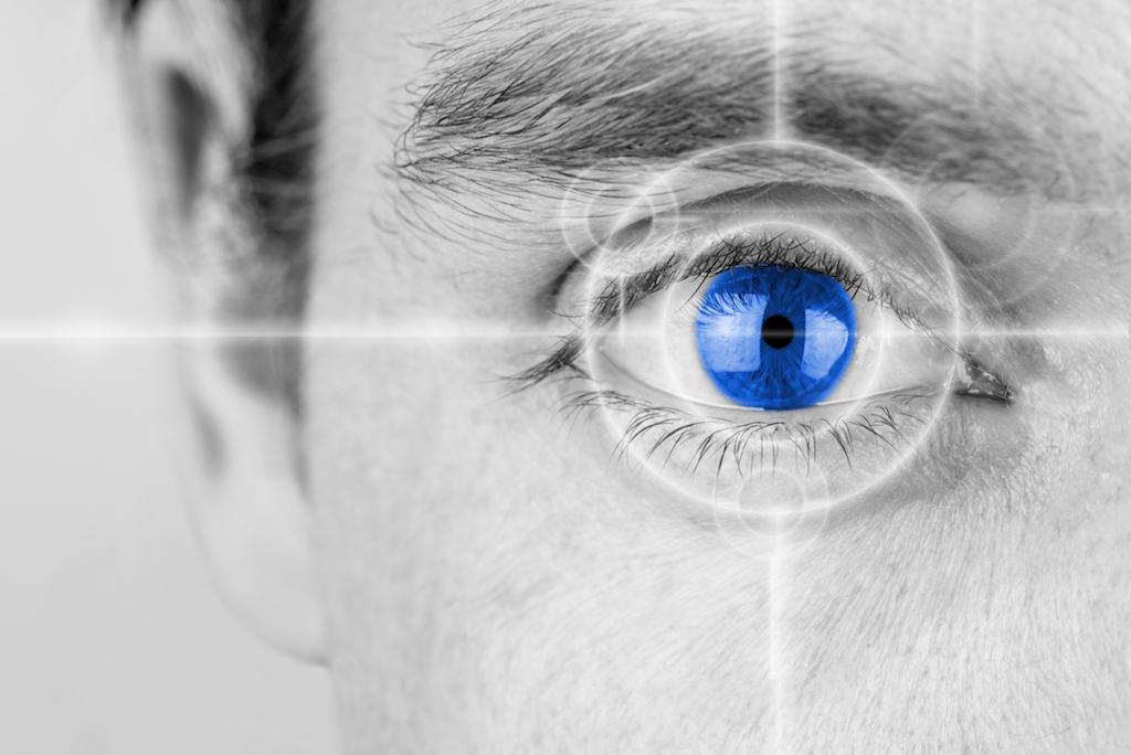 Visual eye training